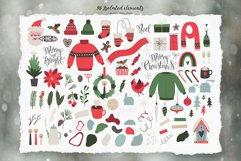 Merry Christmas Vector Set Product Image 2