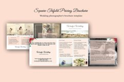 Wedding Trifold Pricing Brochure | 5X5 - Instant Instant dow Product Image 2