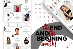 Fashion Minimalist Instagram Puzzle Preset for Canva Product Image 10