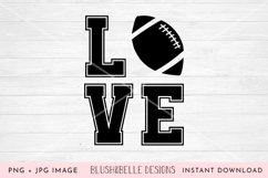 Football Love - PNG Product Image 1