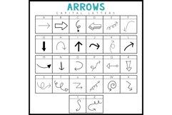 Arrows - A Doodle Font Product Image 3
