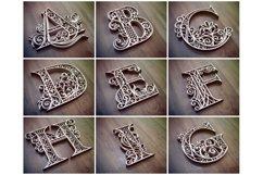 A-Z Layered Letters Bundle, Alphabet letters Bundle Product Image 3