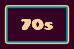 Groovy Disco 70s Font Product Image 3