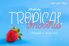 Tropical Smoothie Product Image 1
