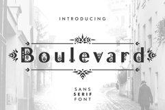 Boulevard - Sans Serif Font Product Image 1