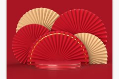 Chinese New Year Mockup Scene Product Image 5