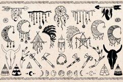 Hand drawn Boho Tribal design Product Image 2