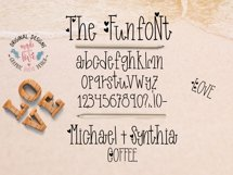 Funfont - Modern Hand Lettered Font with Cute Alternate Capitals Product Image 3