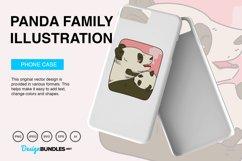 Panda Family Vector Illustration Product Image 4