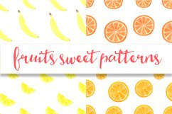 Watercolor sweet fruits Product Image 4