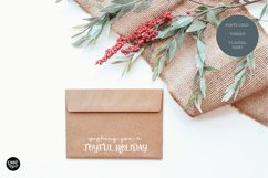 DASHER a Farmhouse Christmas Display Font Product Image 3