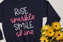 Sparkling - A Cute Script Font. Product Image 2