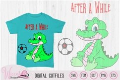 Crocodile after a while quote, Alligator svg, Product Image 1