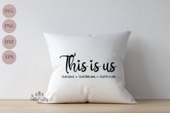 This is us SVG, PNG, Craft file Product Image 3