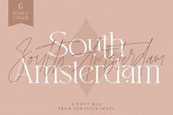 South Amsterdam Font Duo & Logos Product Image 1