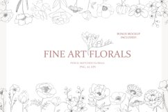 Fine Art Florals - Pencil Sketches Product Image 1