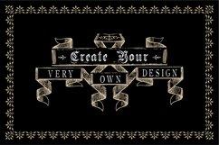 Vintage Ornament Design Creators Kit - AI EPS PNG Product Image 5