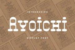 Web Font Ryoichi Font Product Image 1