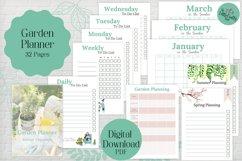 Garden Planner, PDF Printable Product Image 1