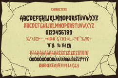 Attack Attack Typeface Product Image 3
