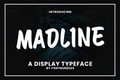 Web Font Madline Product Image 1