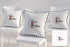 Three square PILLOWS mockup styled Product Image 2