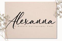Alexanna Script Product Image 1