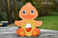Duck Easter egg holder design SVG / DXF / EPS Product Image 3