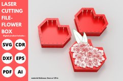 Flower Box- Laser cutting File Product Image 1