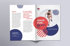 Fitness Trainer Coach Brochure Bifold Product Image 2