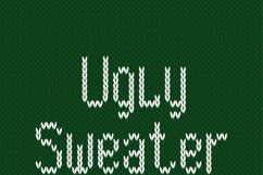 Christmas Knitted Font Version 3.0 Product Image 6