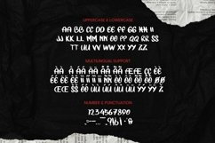 TLUNUORS Font Product Image 5