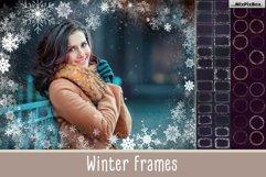A big set of Winter Frames Product Image 1