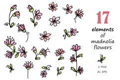 Pugs&Magnolias 29 elements Product Image 3