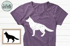 German Sheperd SVG, Printable & Sublimation Design Product Image 1