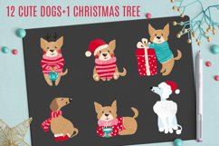 Cute Dogs for Christmas and New Year Product Image 6