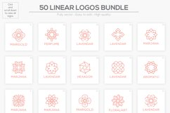 50 Luxury Linear Premade Logo Pack Product Image 4