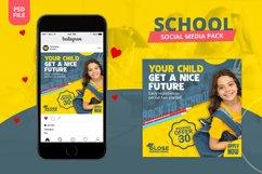 School Social Media Pack Product Image 1