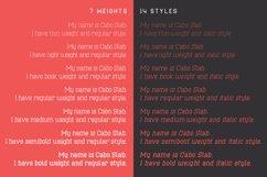 Cabo Slab Font Family Product Image 5