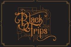 Black Savior - decorative calligraphy Display Font Product Image 4