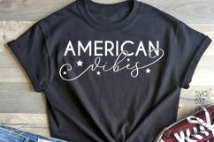 American Vibes svg - USA America 4th of July svg Product Image 1