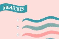 10 Procreate lettering brushes Product Image 4