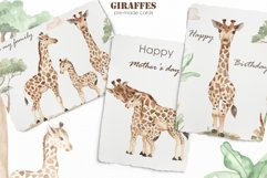 Giraffes. Watercolor collection Product Image 6