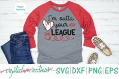 Outta your league SVG, DXF, PNG, EPS Product Image 4