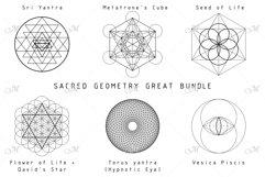 Sacred Geometry Great Bundle PNG/EPS Product Image 2