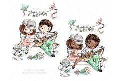 Valentine's Day clip art, love illustrations, Romantic Product Image 6