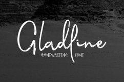 Gladline Script Font Product Image 1