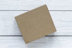 Mockups bundle box, with hand, note. PSD Product Image 6