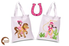 Cowgirl clipart, graphics, illustrations AMB-159 Product Image 2