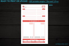 Pinterest Pins planner - KDP notebook. Product Image 3